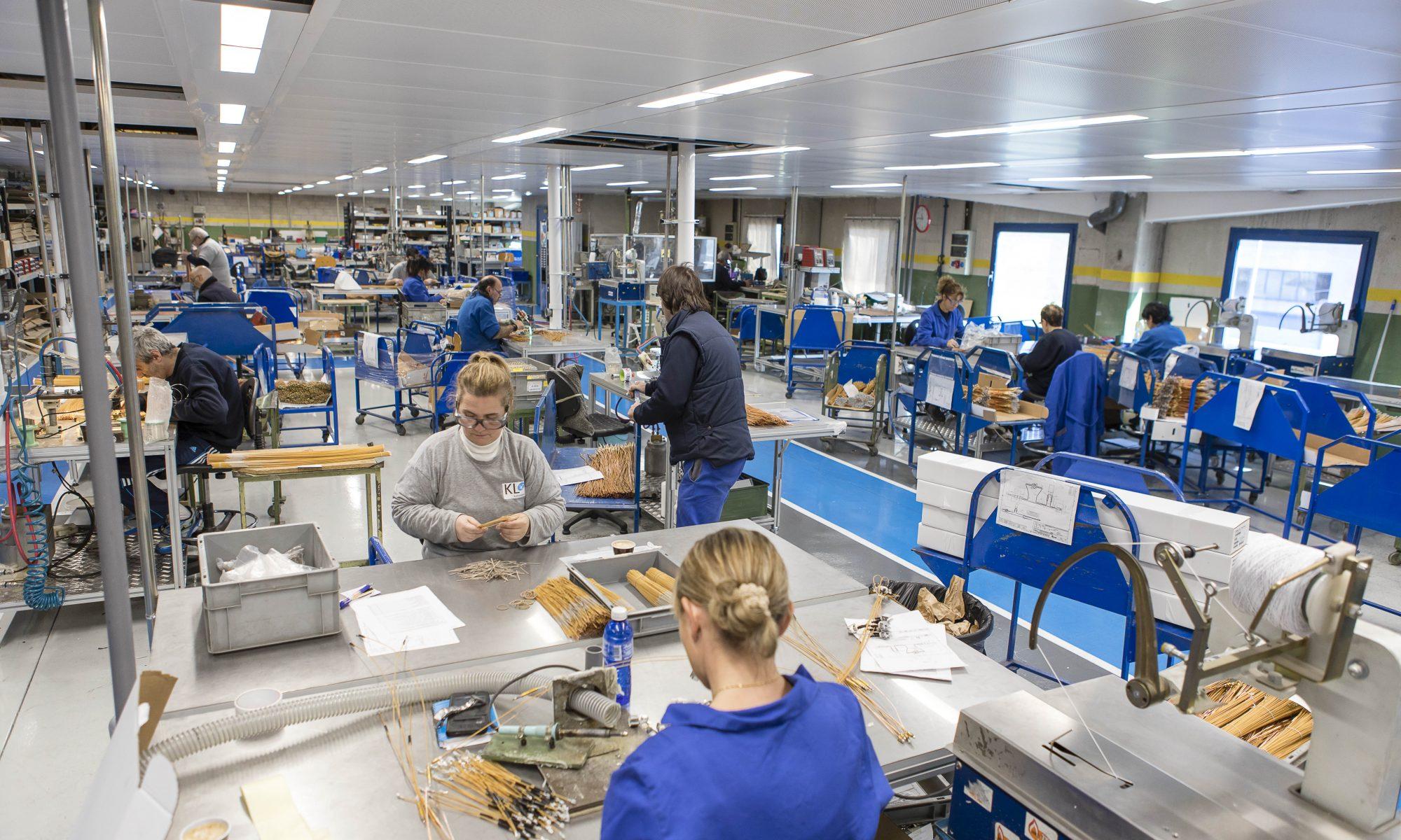 Katelegaia refuerza la actividad industrial de su planta de Lazkao
