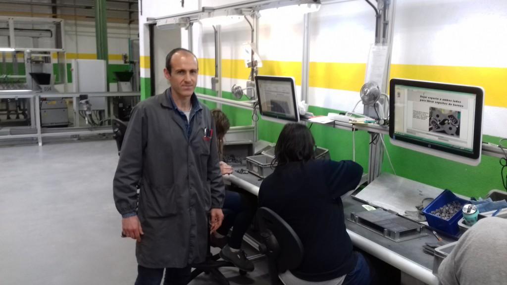Asier Aguirrebeña, responsable de fabricación de MIM-TECH: «La colaboración con KL es una apuesta muy satisfactoria desde el punto de vista de calidad y de rendimiento»