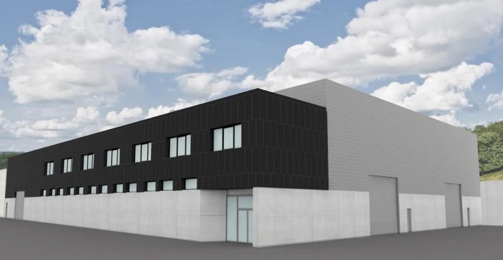 En marcha las obras de la nueva planta productiva de KL de Zarautz