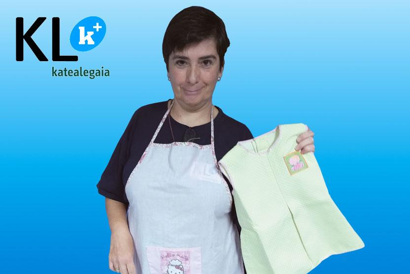"""Mari Carmen Goñi: """"Las máquinas de coser modernas ofrecen más facilidades a las personas con discapacidad que antes, por eso ahora puedo dedicarme a esta pasión"""""""