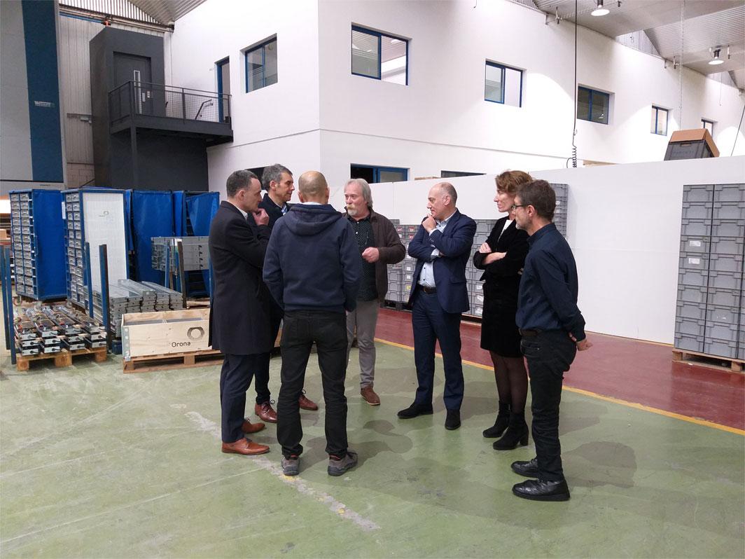 ADEGI visita la planta de KL katealegaia en Hernani