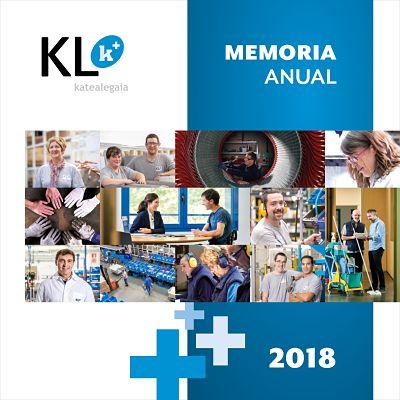 KL katealegaiak Urteko Memoria aurkezten du / KL katealegaia presenta su Memoria Anual de Actividad del año 2018