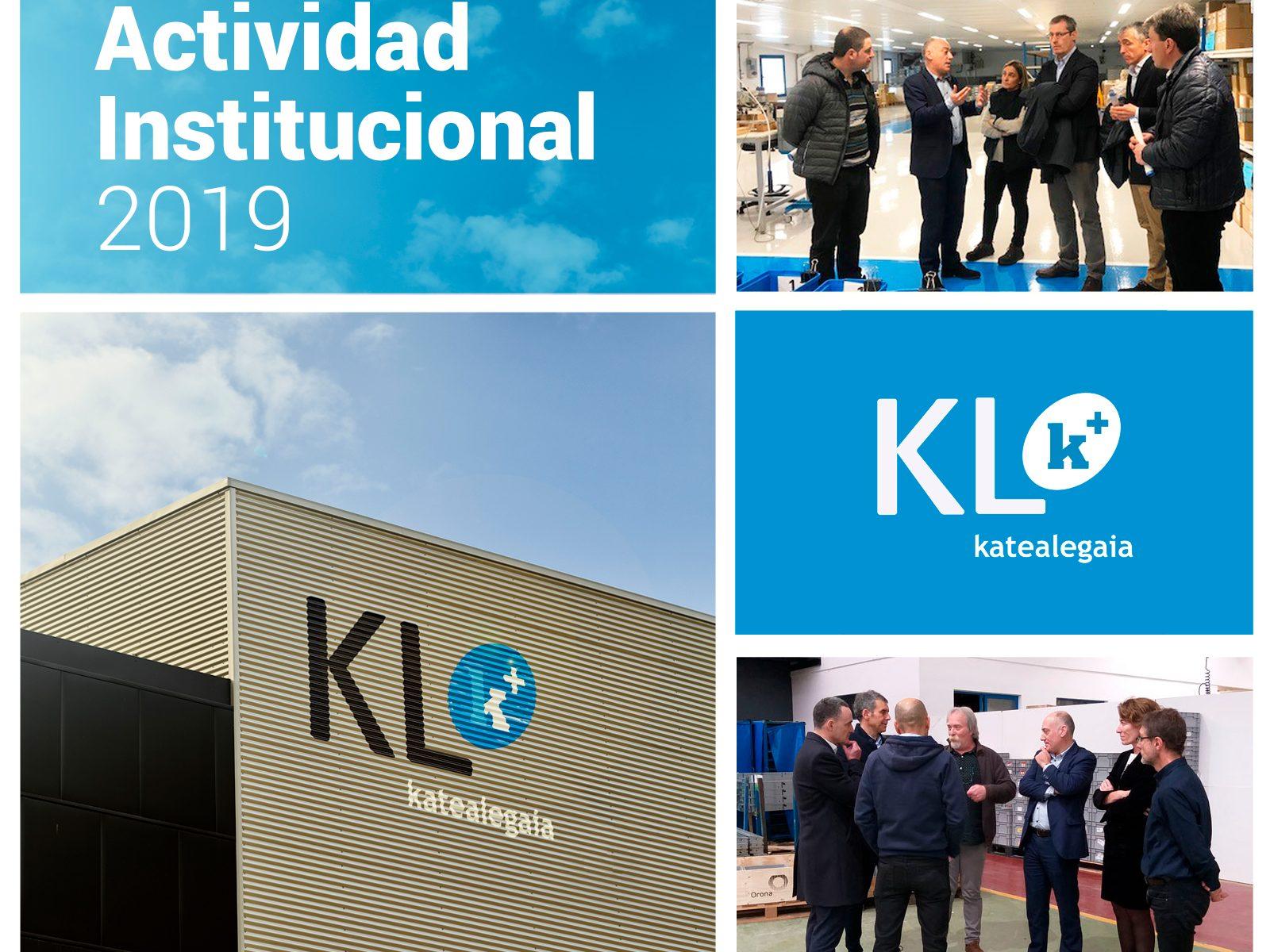 Actividad Institucional de KL durante 2019