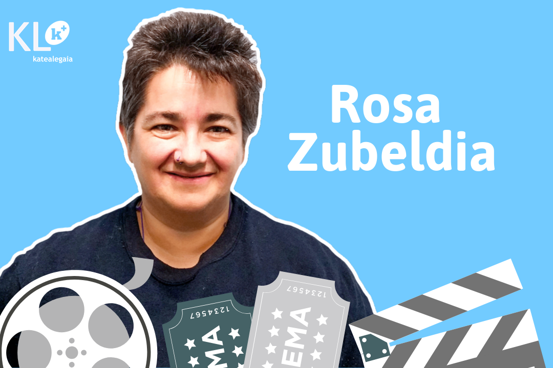 """Rosa Zubeldia: """"En KL katealegaia no me considero una figurante, después de tantos años trabajando en KL y siendo socia, yo me siento una actriz principal""""."""