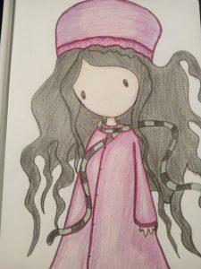 Ana Holguera dibujo