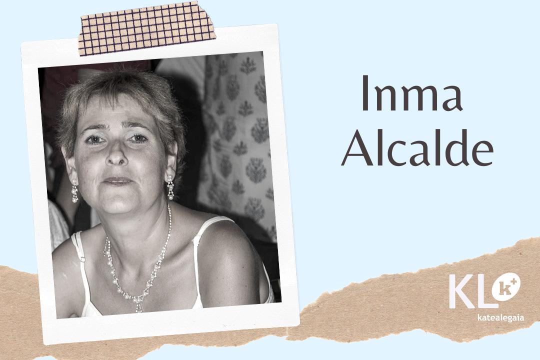 """Inmaculada Alcalde: """"Había días que, de la depresión, no tenía ni ganas de salir de la cama. Me siento orgullosa de haber podido superar esta situación y sentirme ahora realizada en mi vida y en mi trabajo""""."""