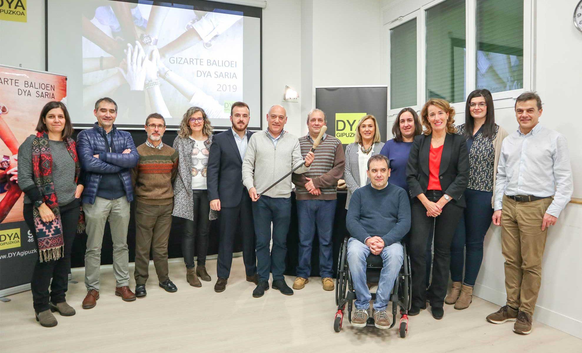 KL katealegaia recibe el premio DYA al valor social 2019