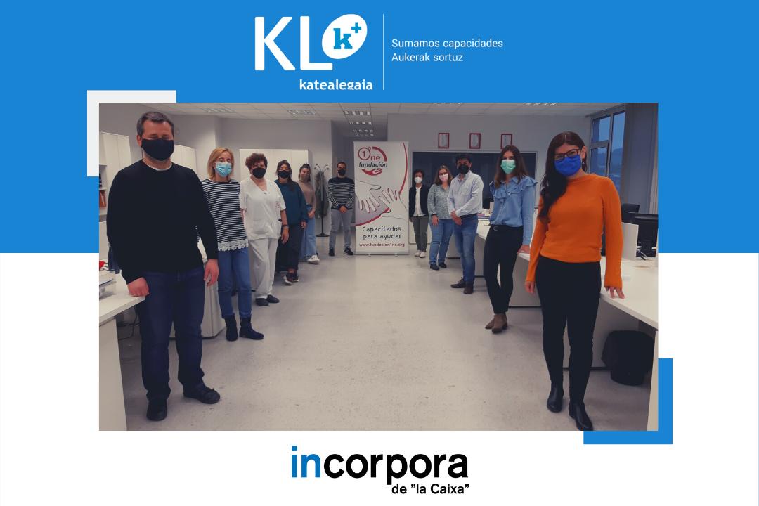 KL katealegaia y Grupo One: Una colaboración con recorrido en la inserción de personas con Discapacidad