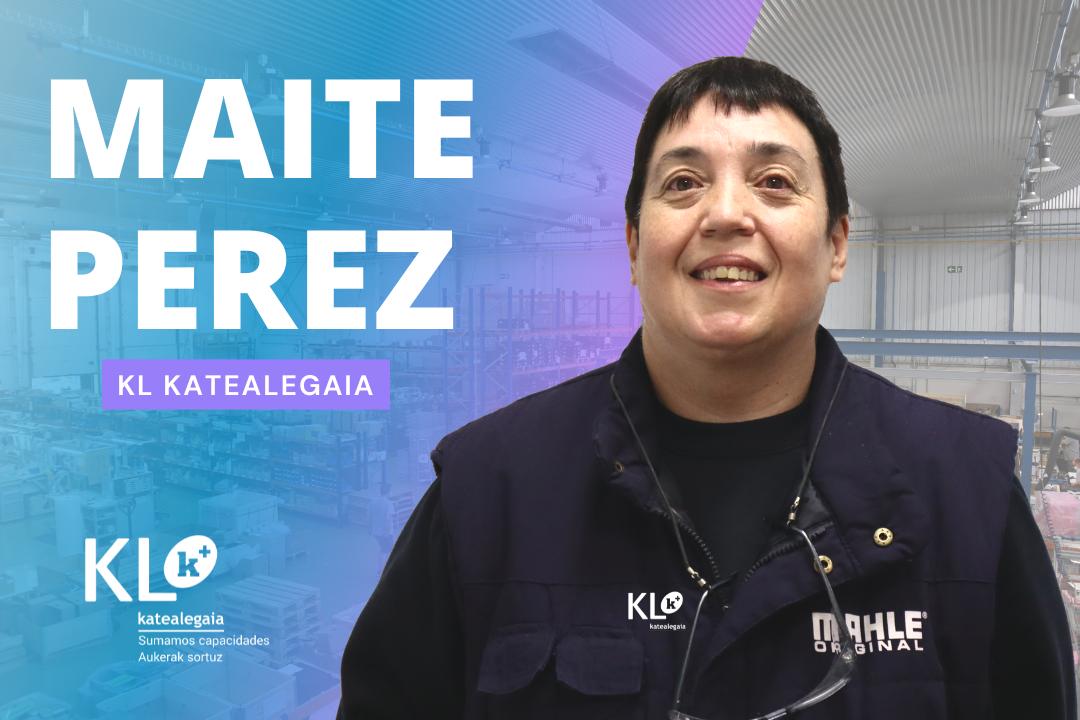 """Maite Pérez: """"El equipo humano que forma KL está lleno de personas que me han acompañado y apoyado a través de todos estos años. Es algo que valoro mucho"""""""